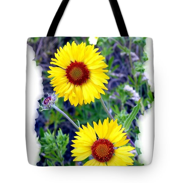 Brown- Eyed Susans Tote Bag by Will Borden