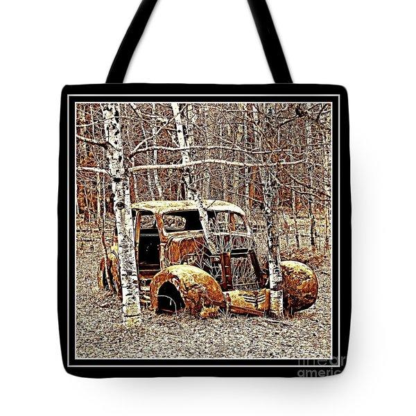 Brown Lady Tote Bag