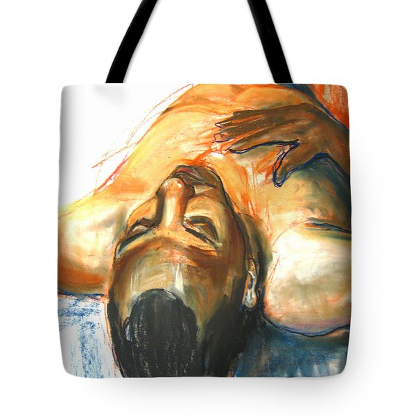 Tote Bag featuring the drawing Brown Sugar by Gabrielle Wilson-Sealy