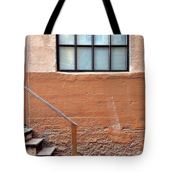 Bannister And Window Tote Bag