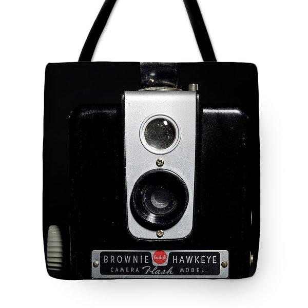 Brownie Hawkeye Flash Camera Tote Bag