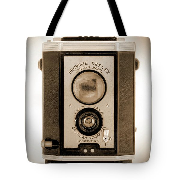 Brownie Reflex Tote Bag by Mike McGlothlen