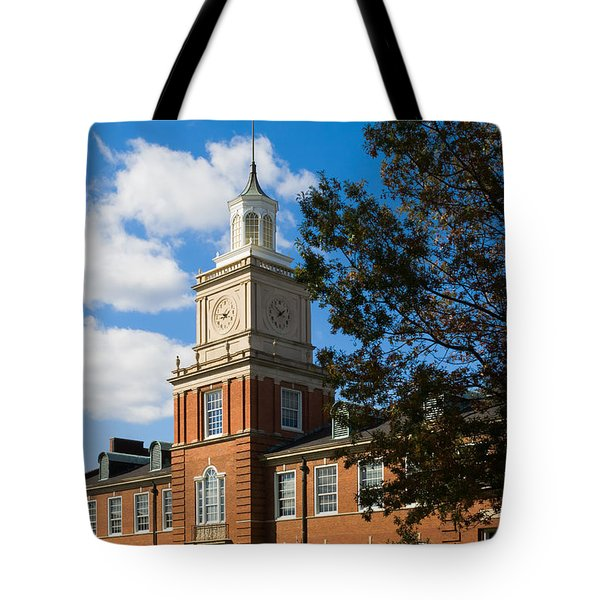 Browning Building At  A P S U Tote Bag by Ed Gleichman