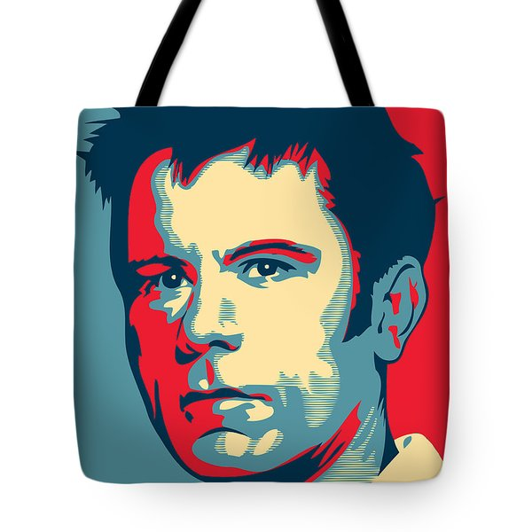 Bruce Dickinson Tote Bag by Caio Caldas