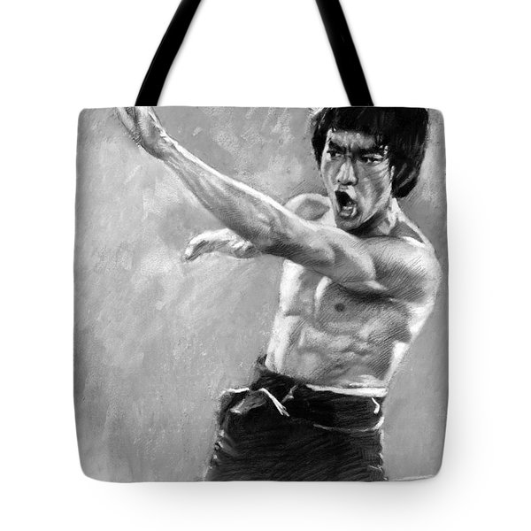 Bruce Lee Tote Bag