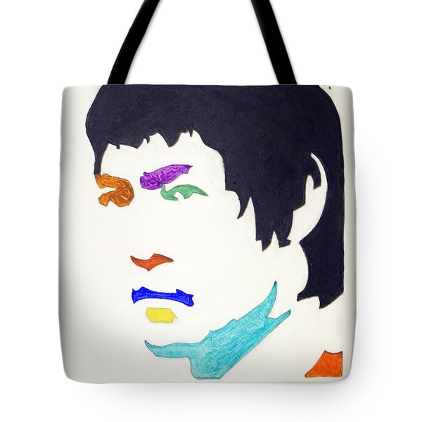 Tote Bag featuring the  Bruce Lee by Stormm Bradshaw