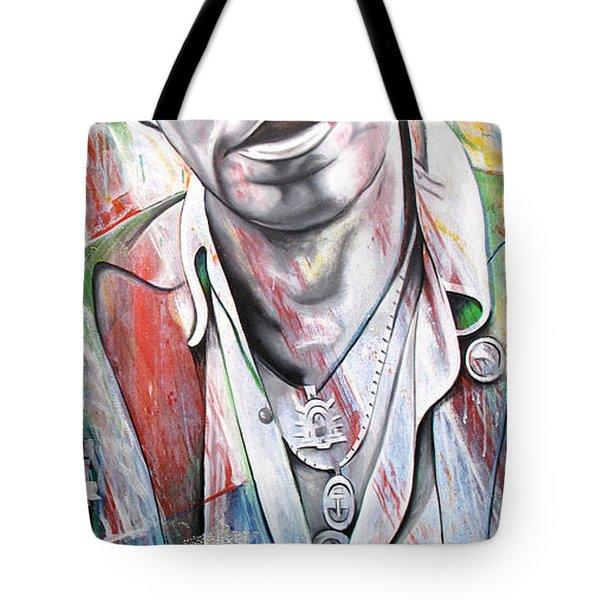 Bruce Springsteen Tote Bag by Joshua Morton