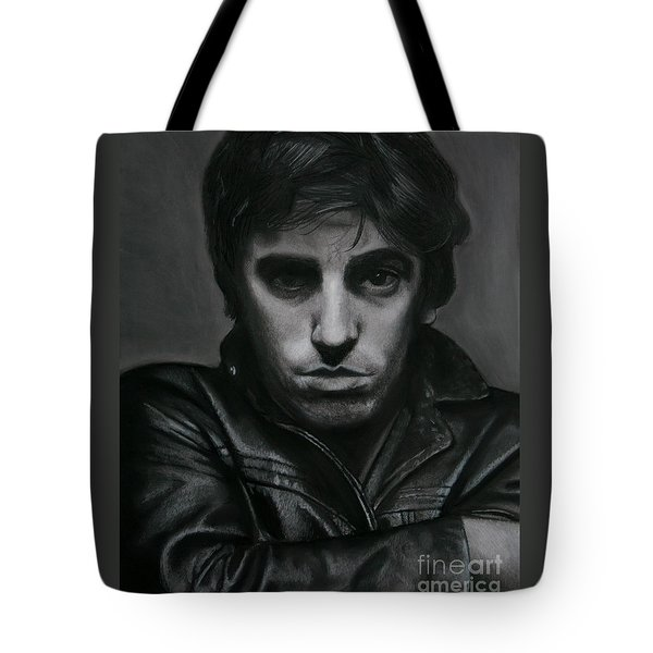 Bruce Springsteen Tote Bag by Raine Cook