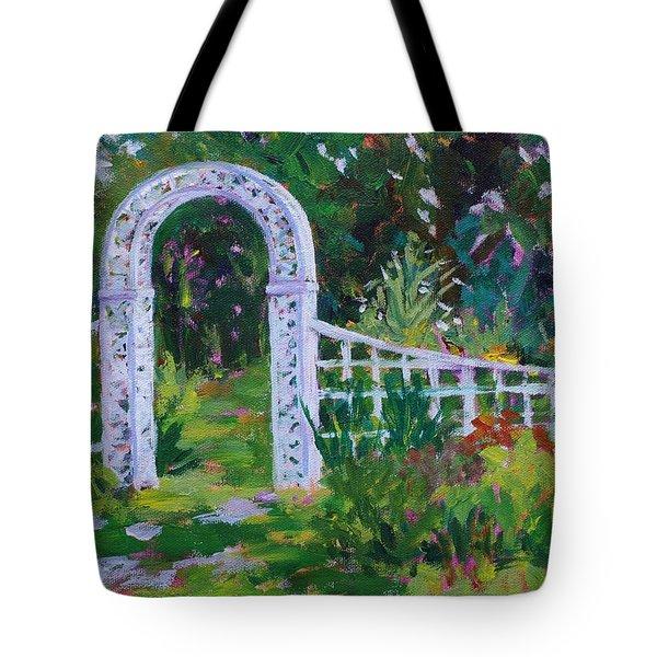 Brucemore Garden Gate Tote Bag