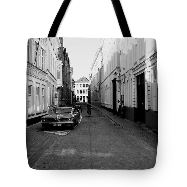 Bruges Back In The 60's Tote Bag