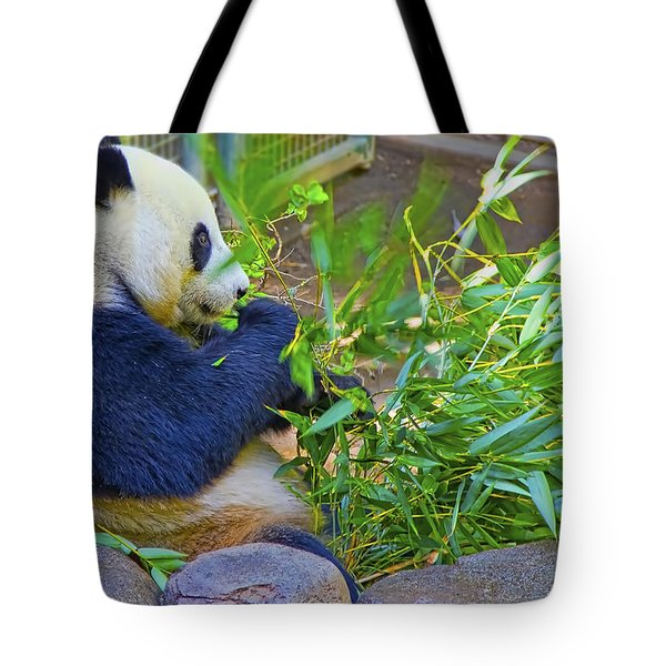 Tote Bag featuring the photograph Brunch On The Patio by Gary Holmes