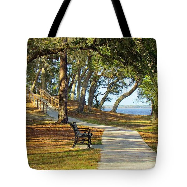 Tote Bag featuring the photograph Brunswick Town by Cynthia Guinn