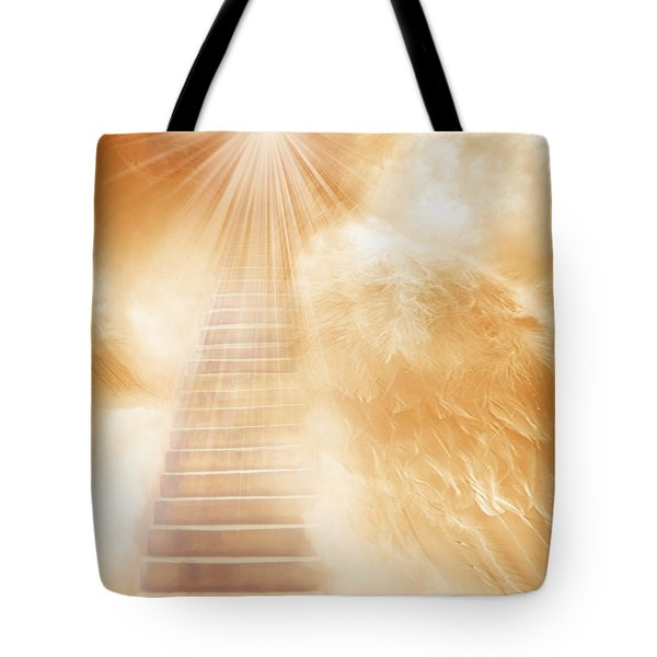 Brush Of Angels Wings Tote Bag