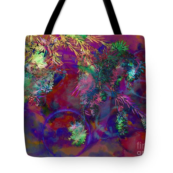 Brushing Circles  Tote Bag