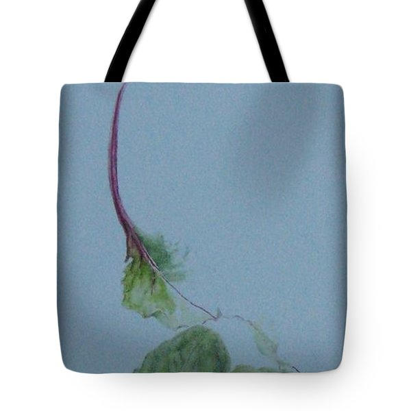 Brussel Sprouts And Beet Leaf Tote Bag