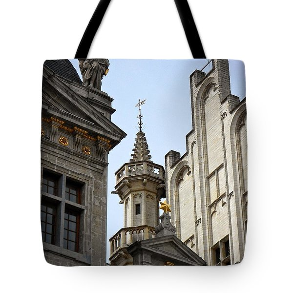 Tote Bag featuring the photograph Brussels  by Joseph J Stevens