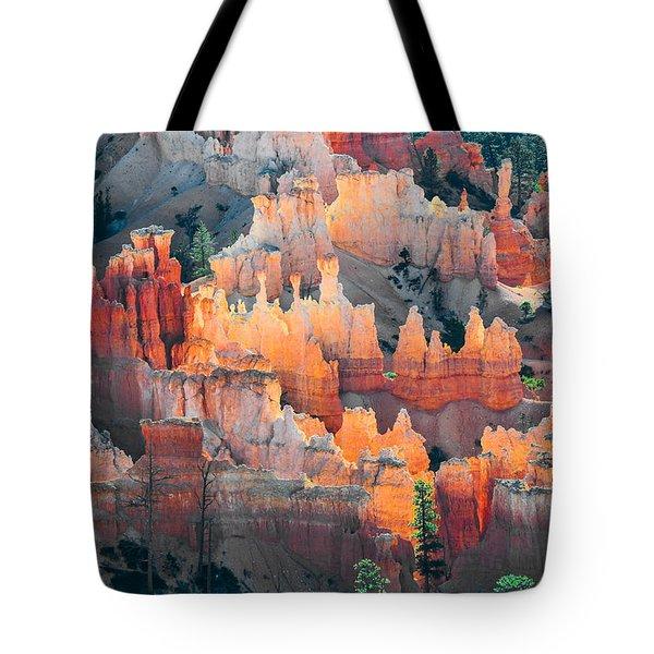 Bryce Canyon At Sunrise Tote Bag