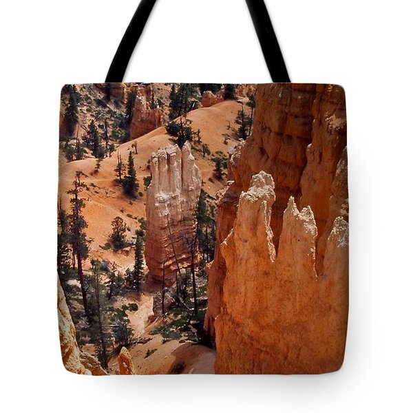 Bryce Canyon National Park 2 Tote Bag by Thomas Woolworth