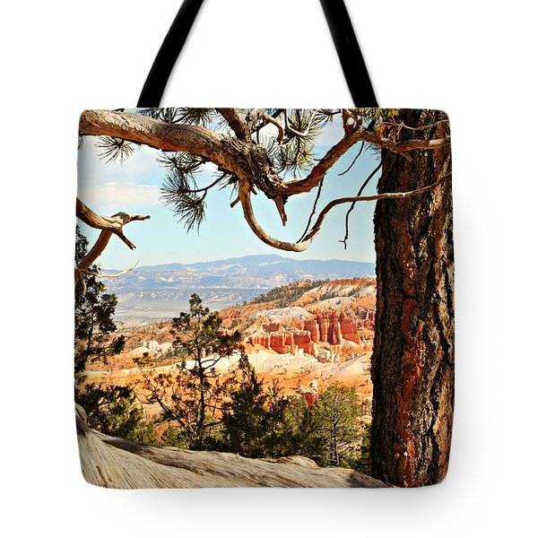 Bryce Canyon Through The Trees Tote Bag