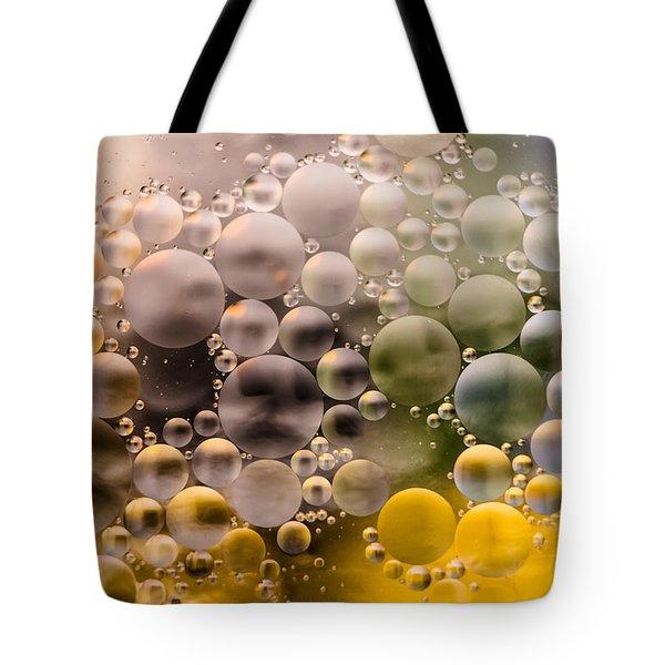 Bubble Face Tote Bag by Wayne King