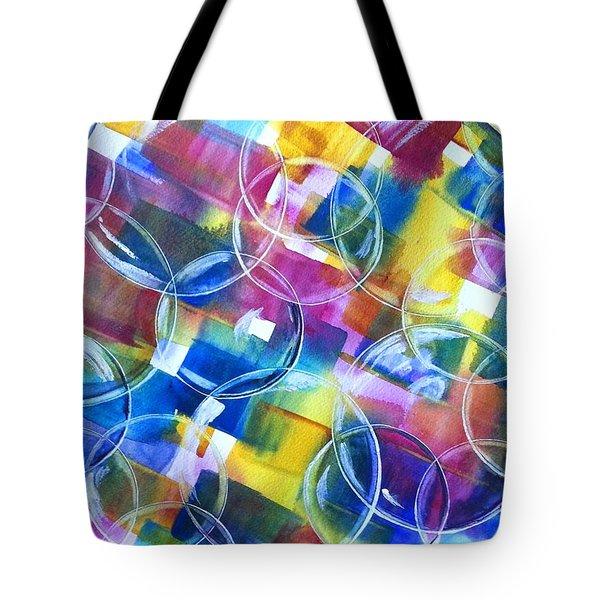 Bubble Fun Tote Bag