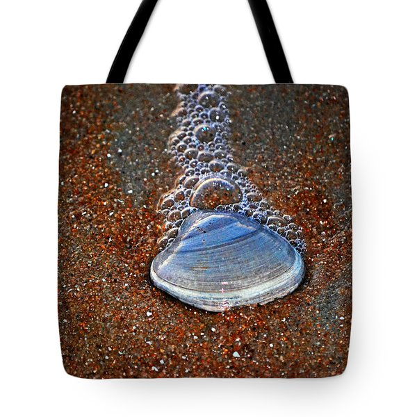 Bubble Shell Tote Bag