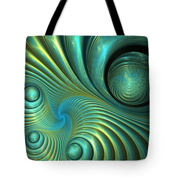 Bubble Spiral Tote Bag