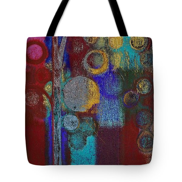 Bubble Tree - Rd01r Tote Bag by Variance Collections