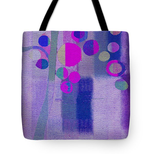 Bubble Tree - S85lc03 Tote Bag by Variance Collections