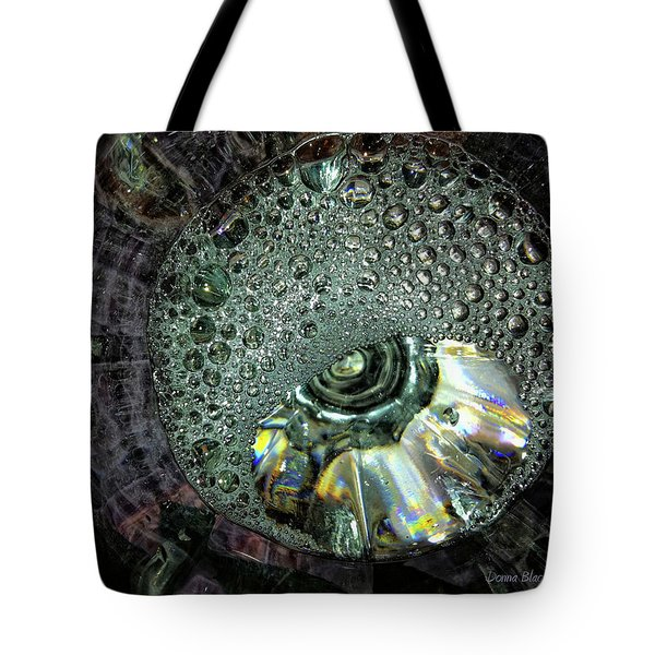 Bubble Trouble Tote Bag by Donna Blackhall