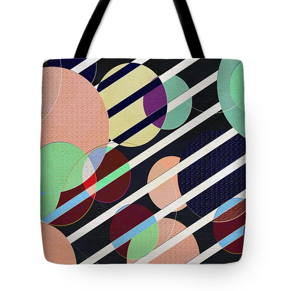 Bubble Universe Tote Bag by Linda Dunn