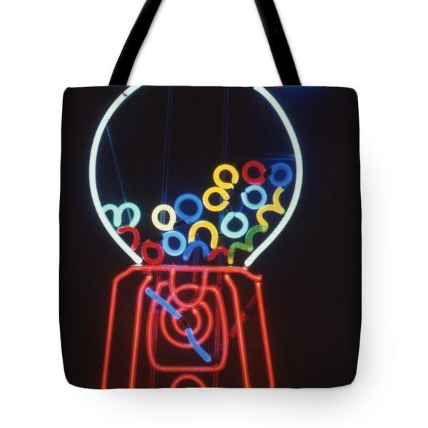 Bubblegum Machine Tote Bag by Pacifico Palumbo