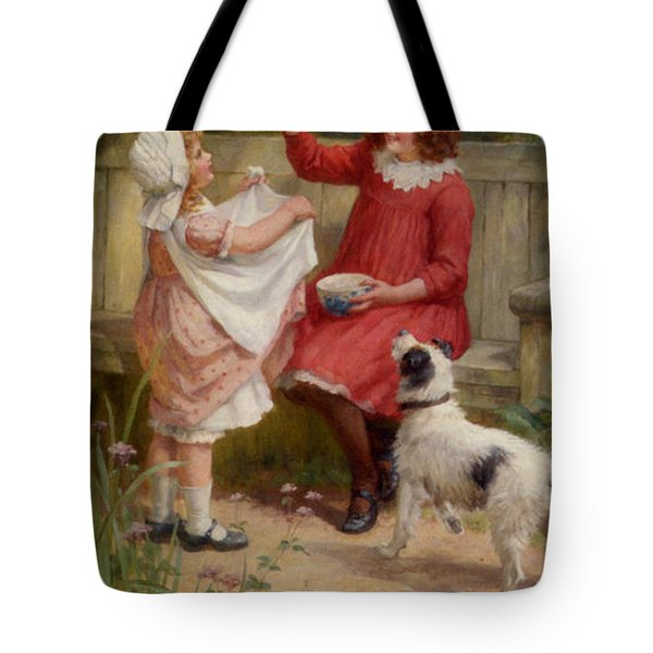 Bubbles Tote Bag by George Sheridan Knowles