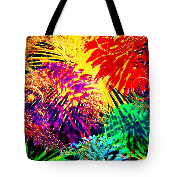 Tote Bag featuring the photograph Bubbles by Geraldine DeBoer