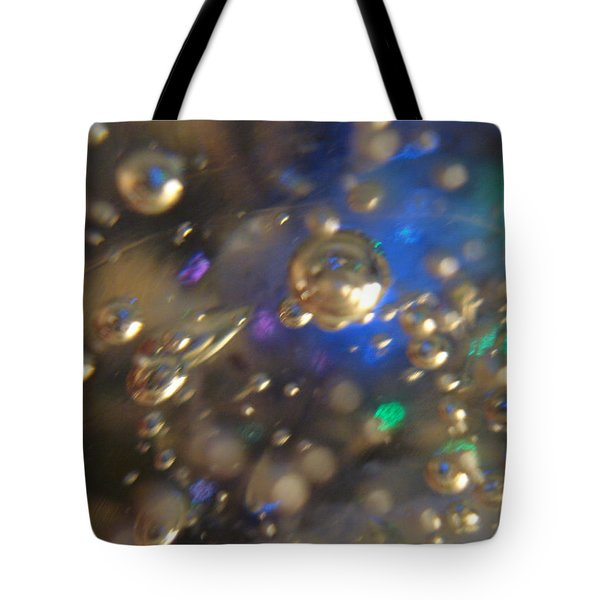 Bubbles Glass With Light Tote Bag
