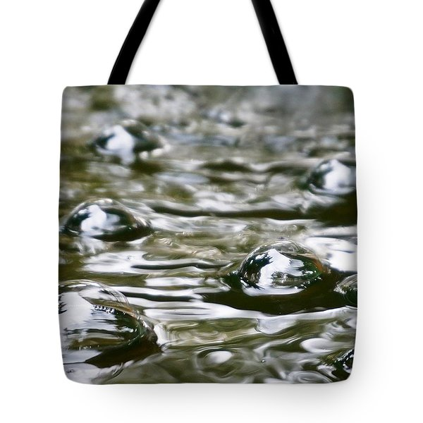 Bubbles Tote Bag by Julia Ivanovna Willhite