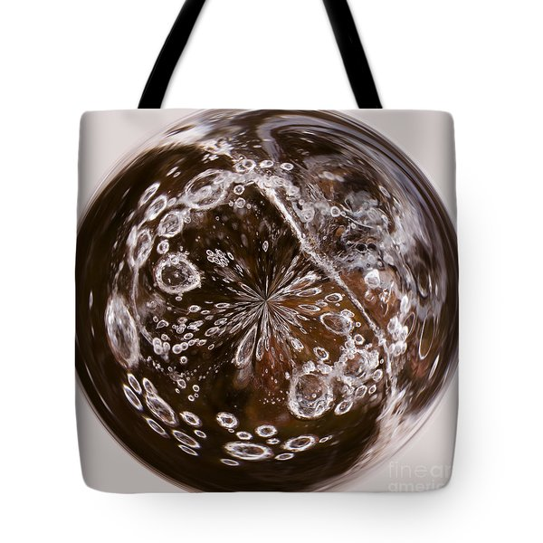 Bubbles Within Bubble Tote Bag by Anne Gilbert