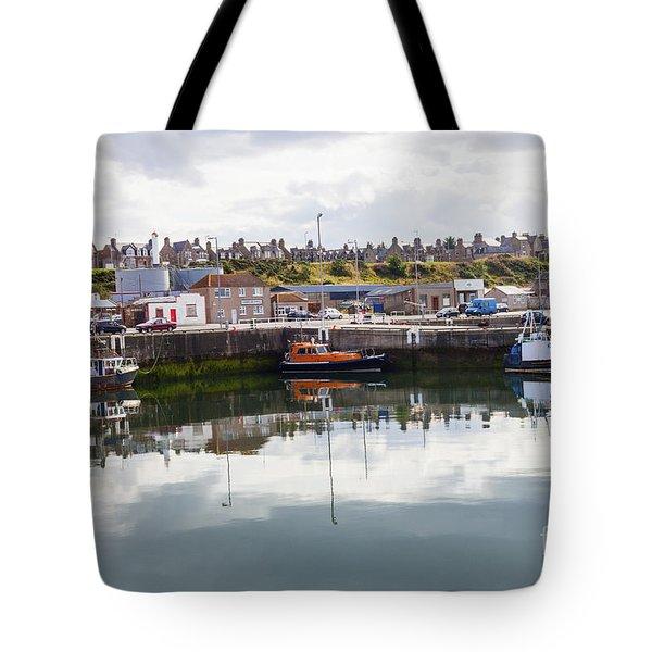 Buckie Harbour Tote Bag