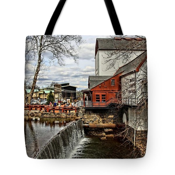 Bucks County Playhouse Tote Bag by DJ Florek