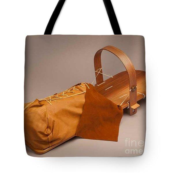 Buckskin Cradleboard Tote Bag