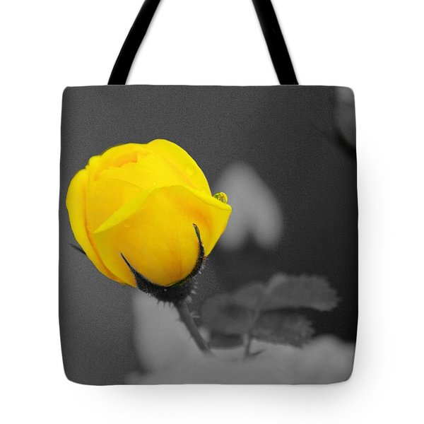 Bud - A Splash Of Yellow Tote Bag by John  Greaves