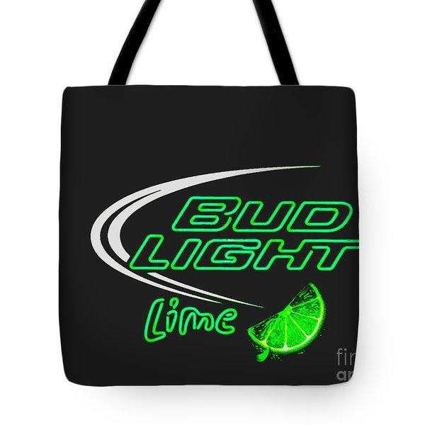 Bud Light Lime 2 Tote Bag