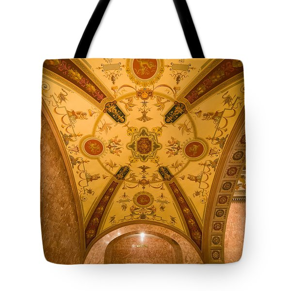 Budapest Opera House Foyer Ceiling Tote Bag