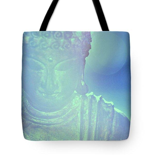 Buddah Bokeh Tote Bag