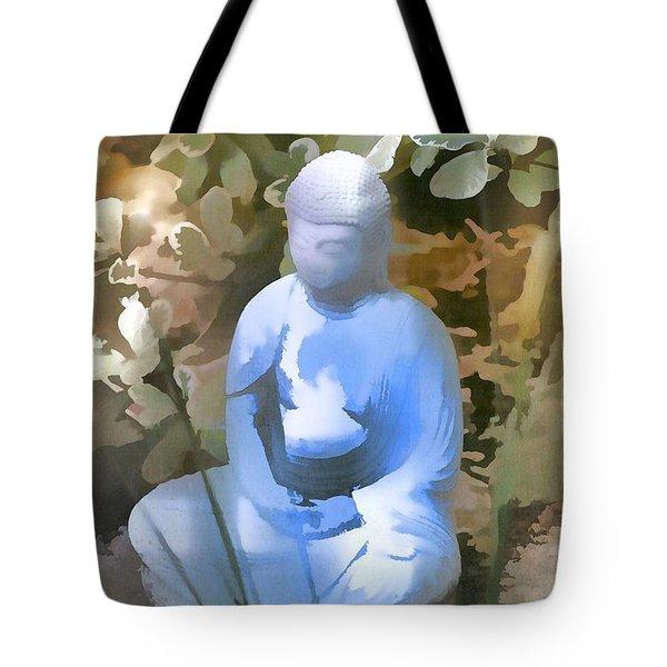 Buddha 3 Tote Bag by Pamela Cooper