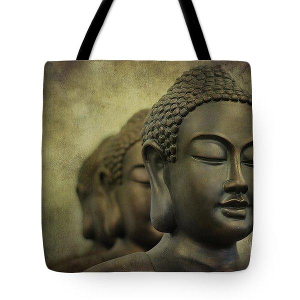 Buddha Bronze Tote Bag