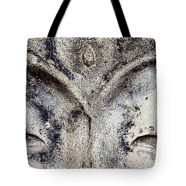 Tote Bag featuring the photograph Buddha Eyes by Roselynne Broussard
