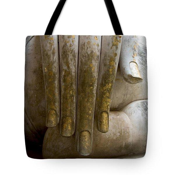Buddha Hand Tote Bag by Zina Zinchik