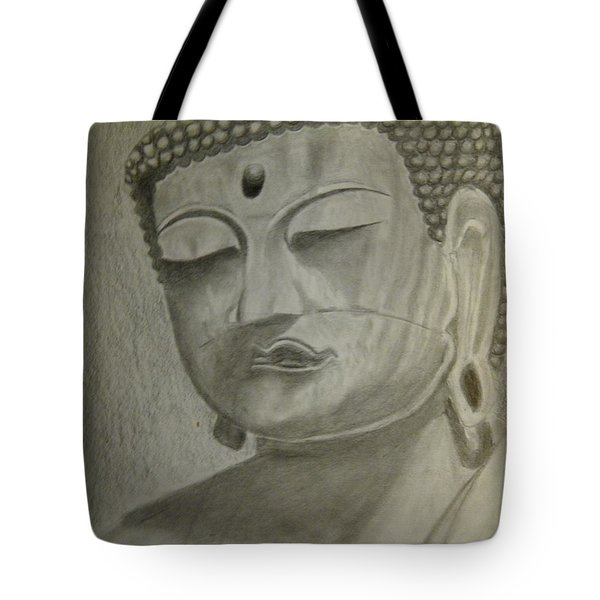 Buddha Tote Bag by Irving Starr