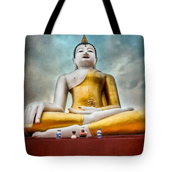 Buddha Thailand Tote Bag